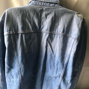 Old Navy Distressed Ripped Demin Jacket(NWT)